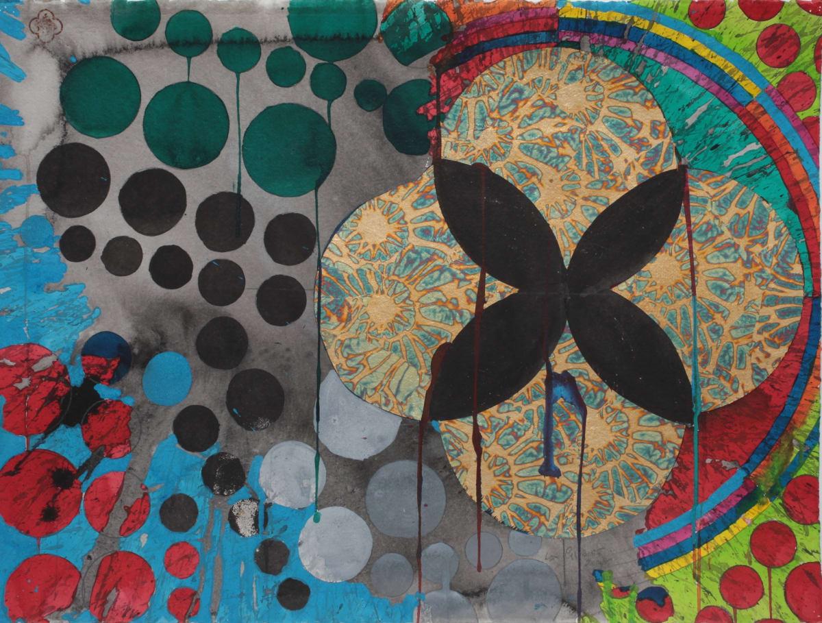 Max GIMBLETT Close Orbit, 2014/15 Mixed media on paper 584 x 762 mm