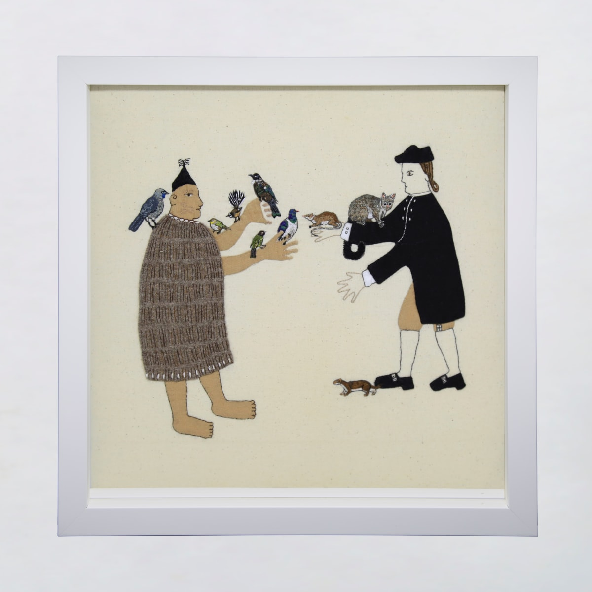 Sarah Munro, Trade Items - Dawn Chorus, Possum, Rat, Stoat, 2019