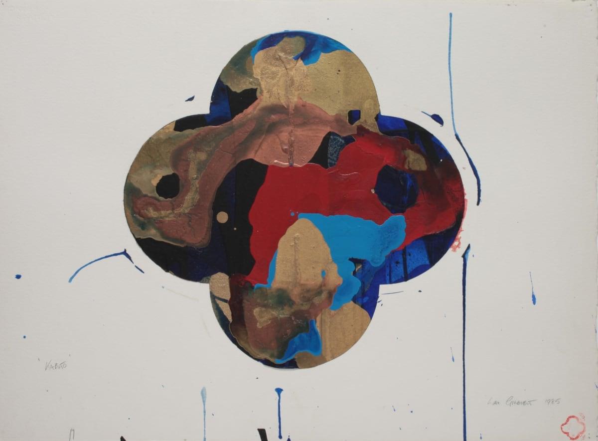 Max GIMBLETT Kabuto, 1985 Mixed media on paper 584 x 762 mm