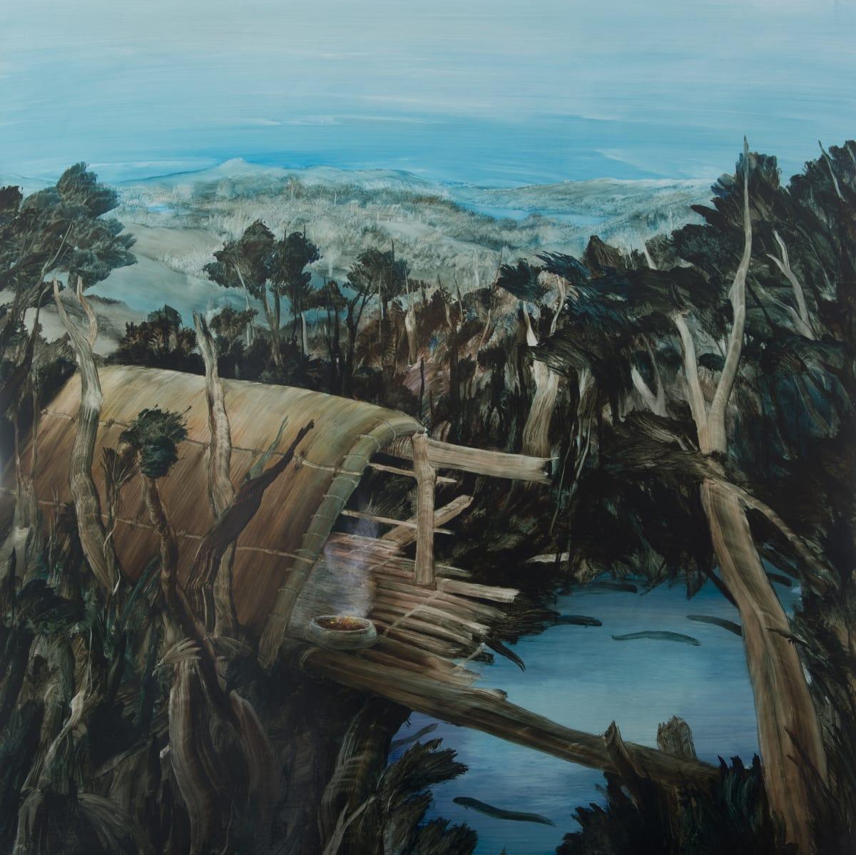 John WALSH Mangatuna, 2015 Oil on board 47.2 x 47.2 in 120 x 120 cm