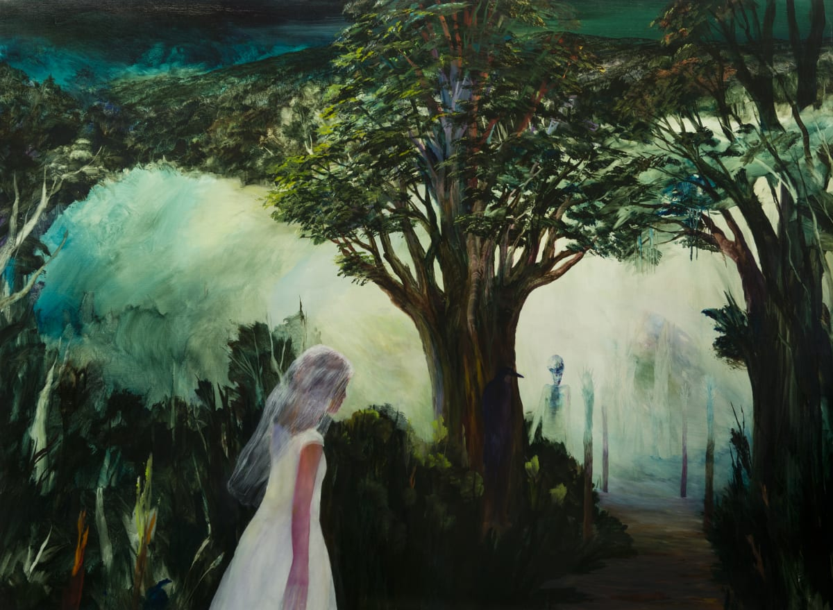 John WALSH The Bride, 2015 Oil on canvas 43.7 x 59.8 in 111 x 152 cm