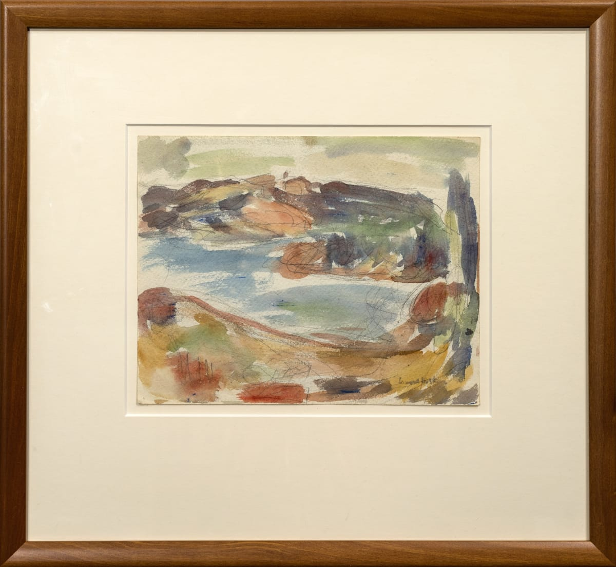 Mountford Tosswill Woollaston, Untitled [Landscape] (5), n.d.