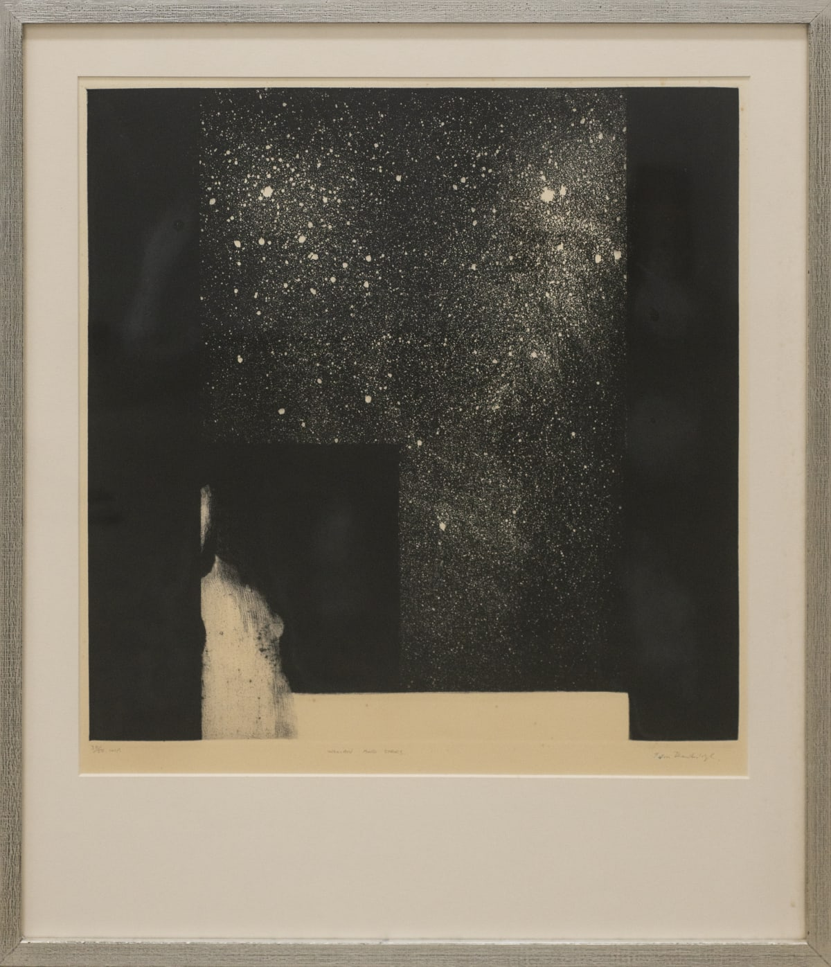 John Drawbridge, Woman and Stars, 30/50 (Framed), n.d.