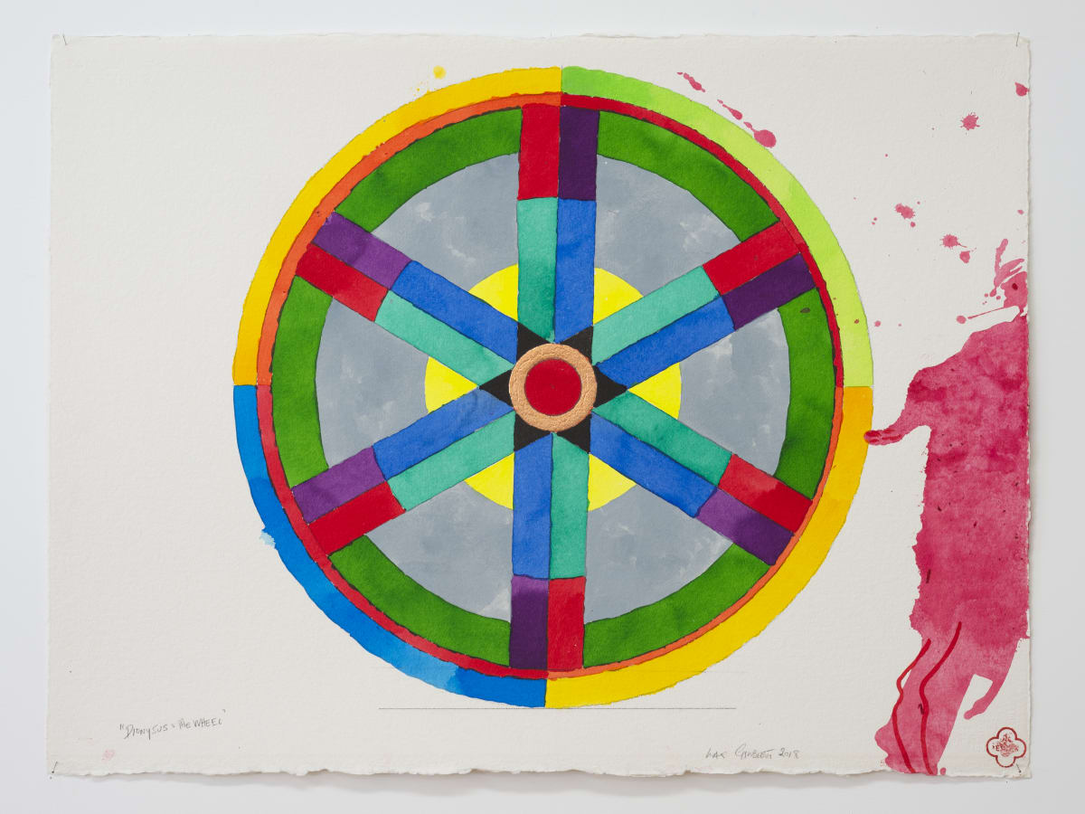 Max GIMBLETT, Dionysus and the Wheel, 2018