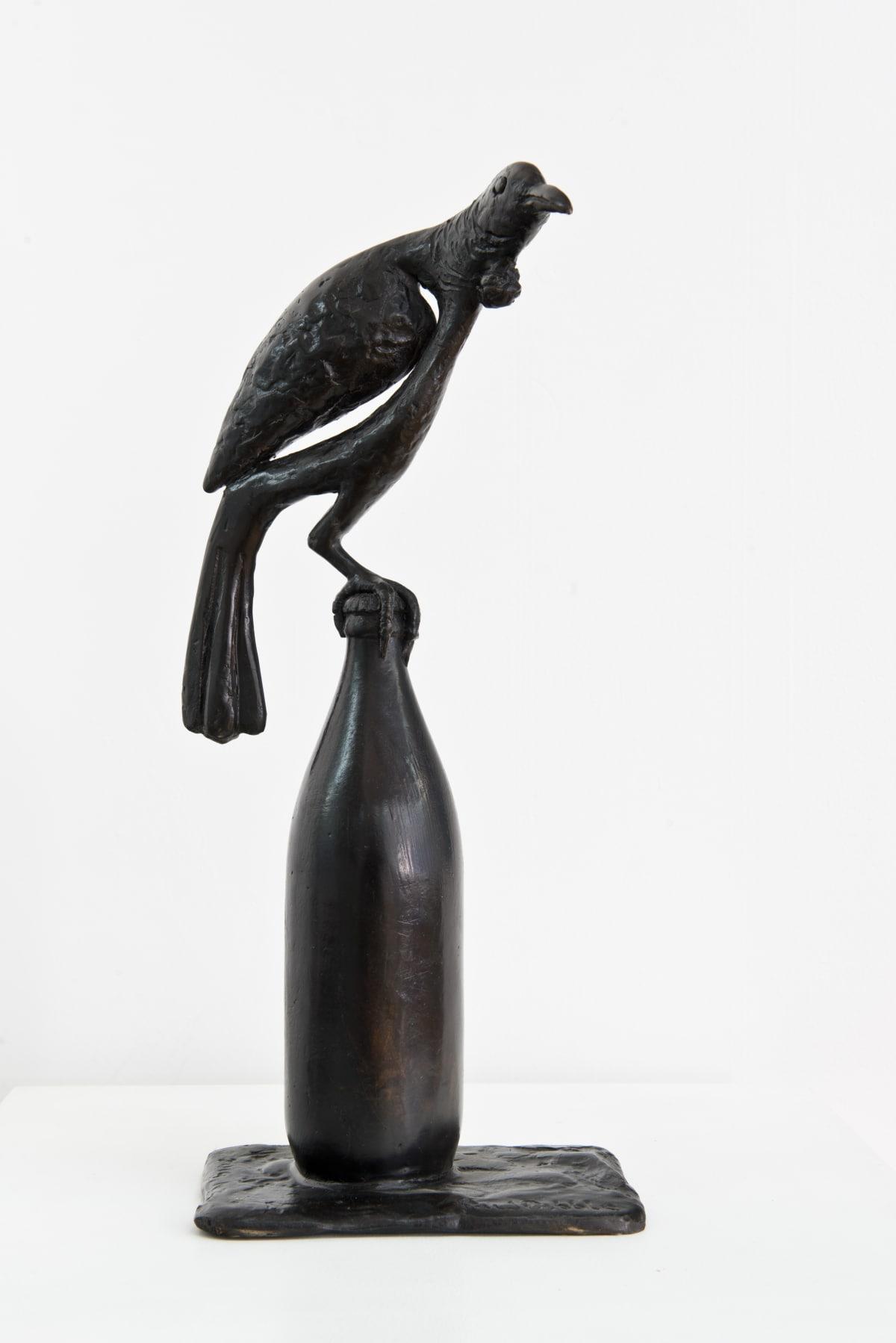 Paul DIBBLE Tui, 2014 Cast Patinated Bronze 18.1 x 7.9 x 5.1 in 46 x 20 x 13 cm #1/5