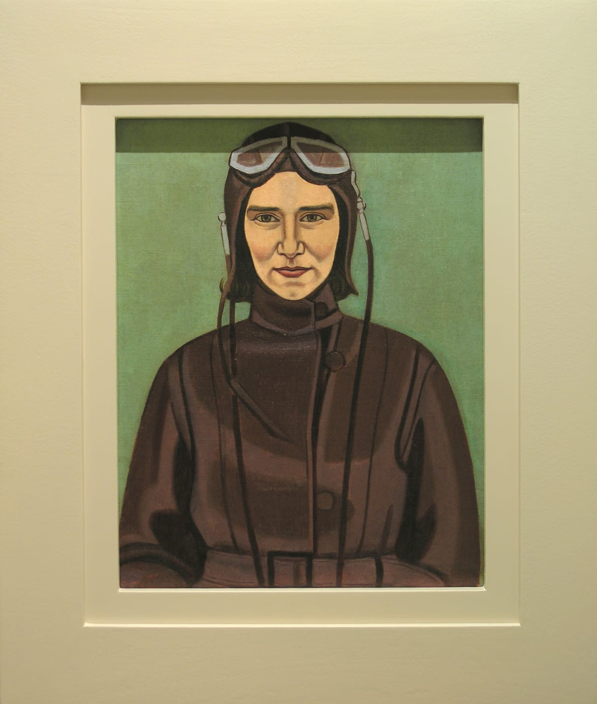Rita Angus, The Aviatrix, 1933