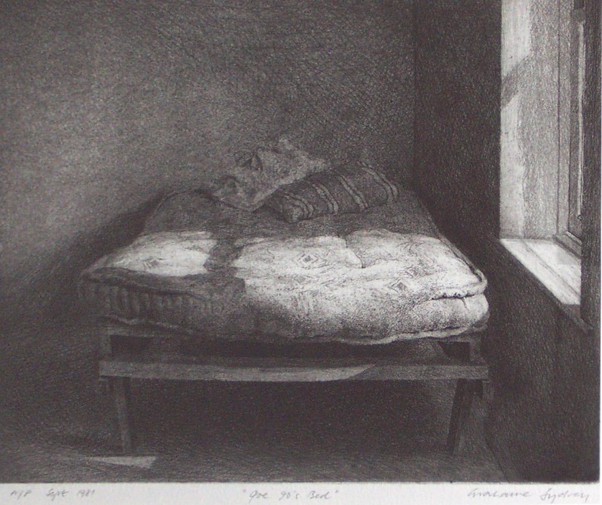 Grahame Sydney, Joe 90's Bed, A/P, 1981
