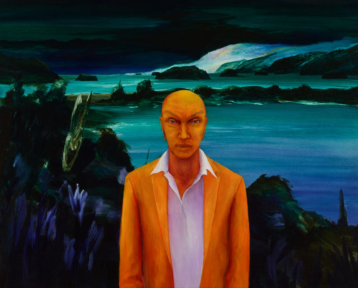 John WALSH Man, 2015 Oil on canvas 31.3 x 39.2 in 79.5 x 99.5 cm