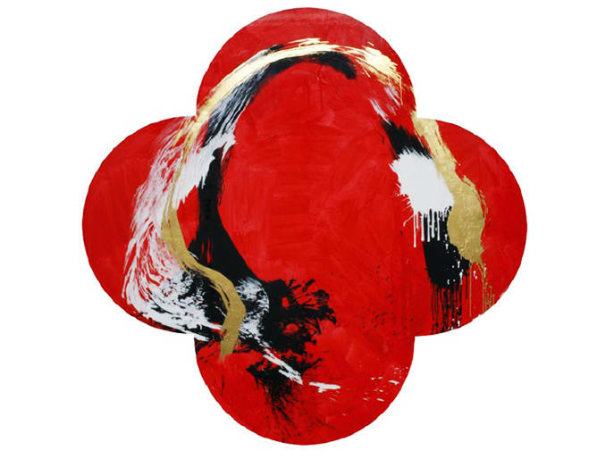 Max GIMBLETT, Painted Moon, 2010