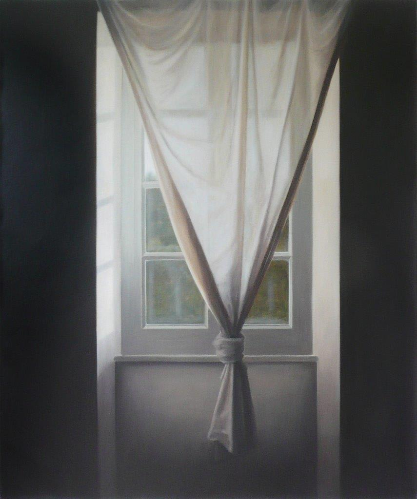 Emily Wolfe Long Shadows, 2013 Oil on linen 47.2 x 39.4 in 120 x 100 cm