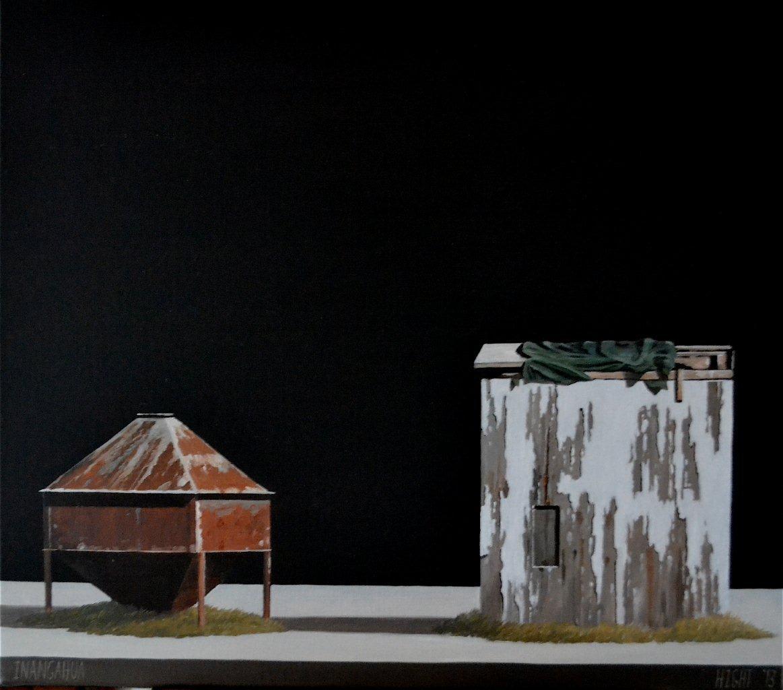 Michael Hight Inangahua, 2013 Oil on linen 14 x 16.1 in 35.5 x 41 cm
