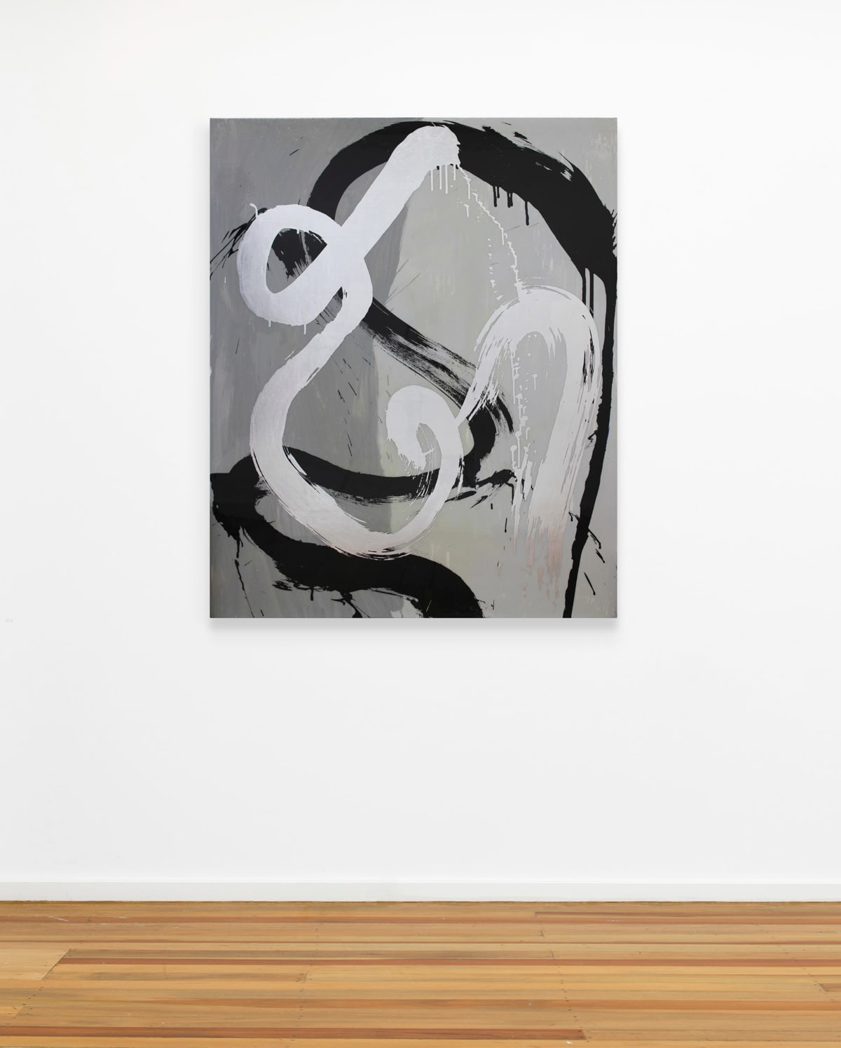 Max GIMBLETT, Homage to Arshile Gorky, 2014