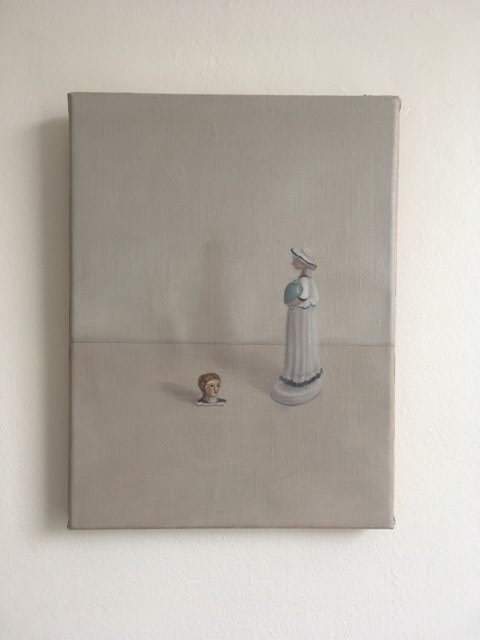 Emily Wolfe  Disembodied (II), 2018  Oil on linen  400 x 300mm