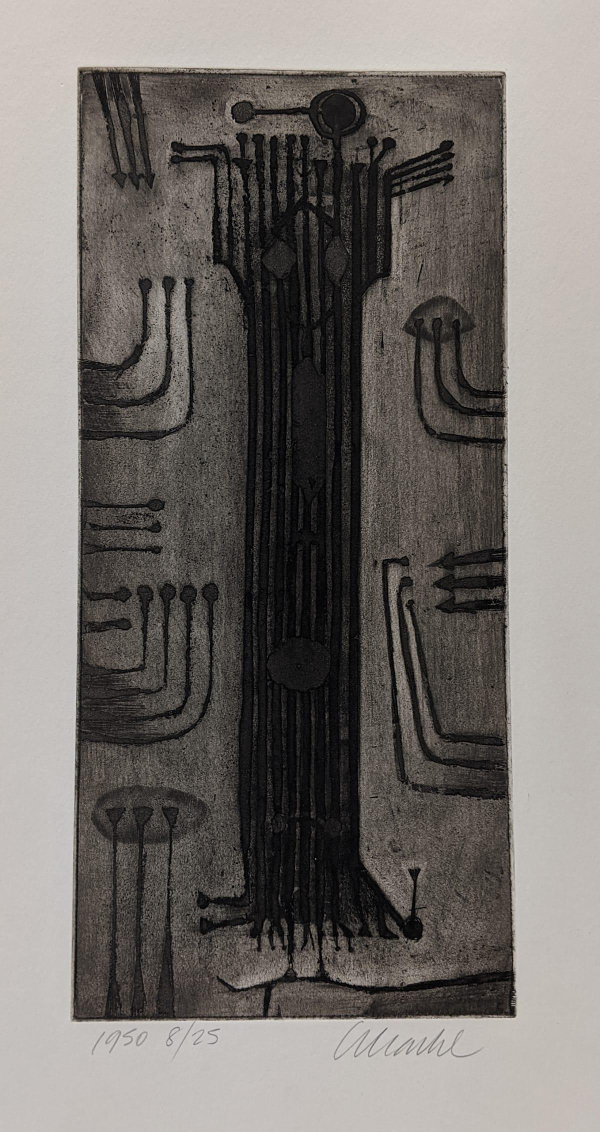 Geoffrey Clarke, Man (vertical format) (69), 1950