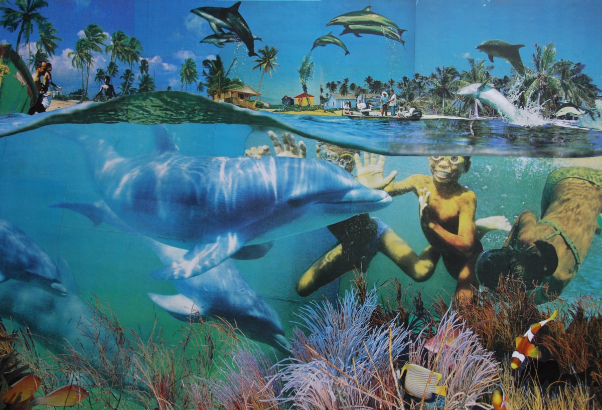 David Mach, Dolphin Friendly, c.2014