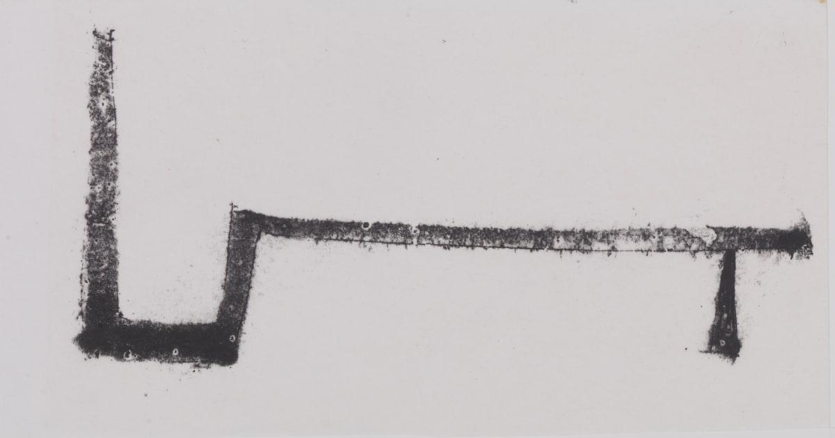 Geoffrey Clarke, Sketch for Channel & Plane, 1964