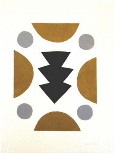 Breon O'Casey, Angular Form in Grey