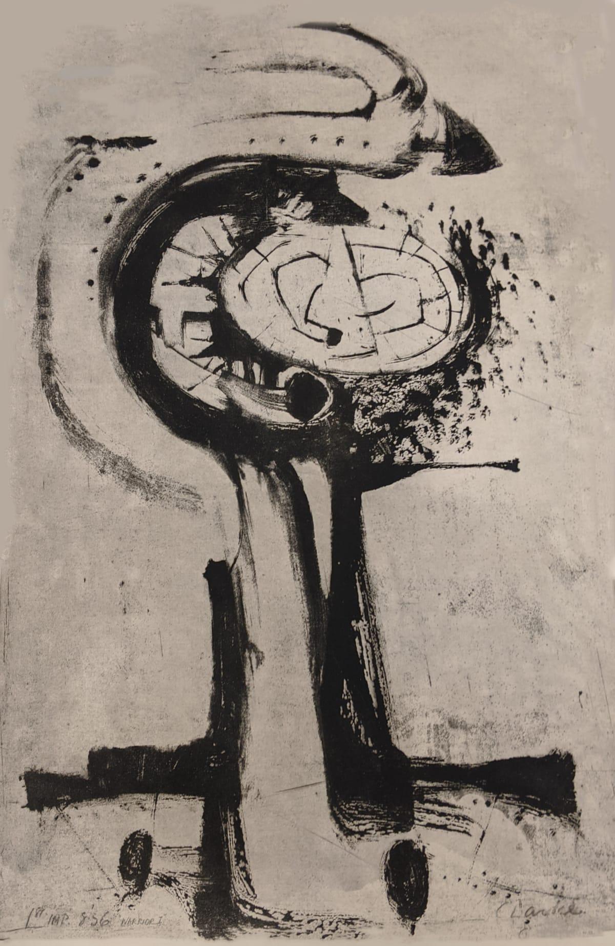 Geoffrey Clarke, Warrior I (181), 1956