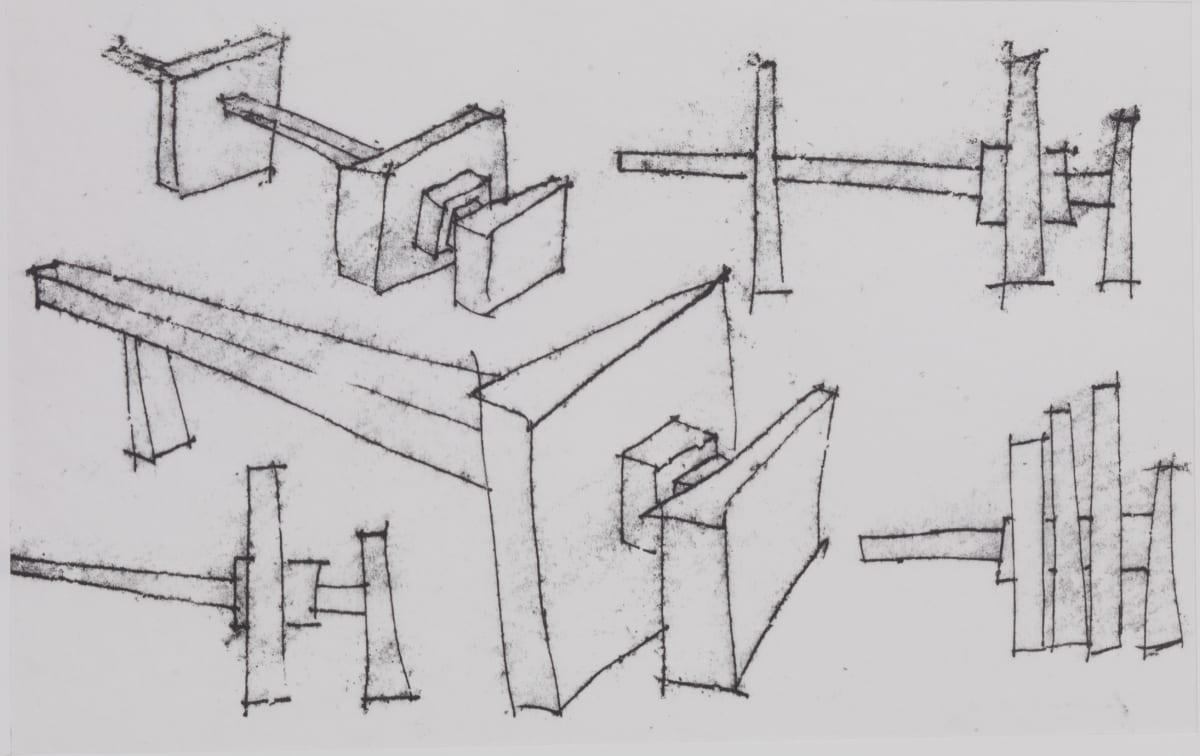 Geoffrey Clarke, Sketch for Battersea, 1964