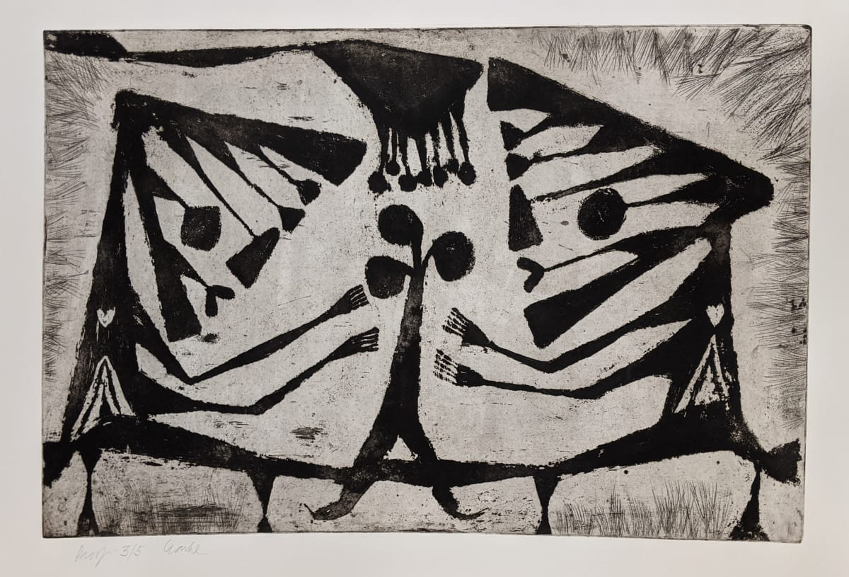 Geoffrey Clarke, Adoration of Nature (113), 1951