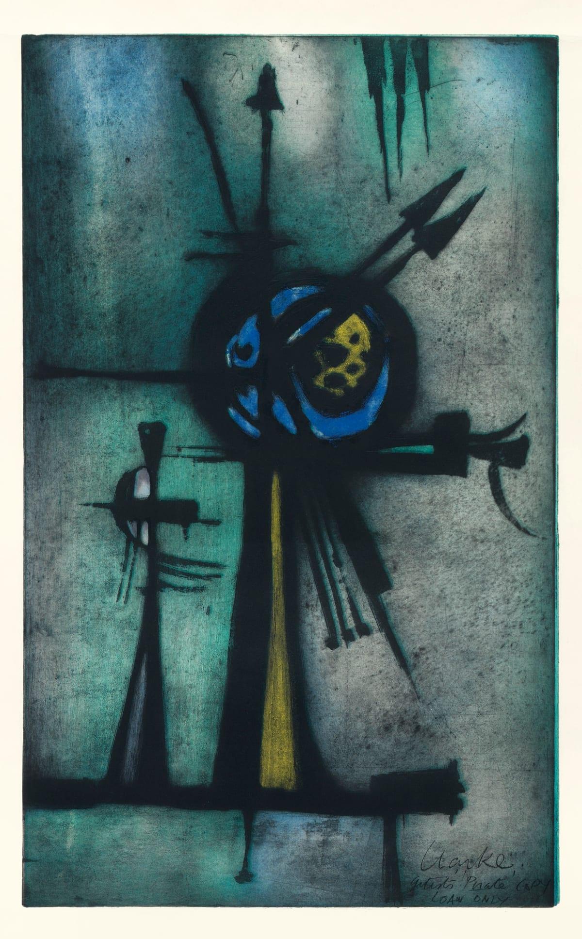 Geoffrey Clarke, Study for Sculpture (176), 1956