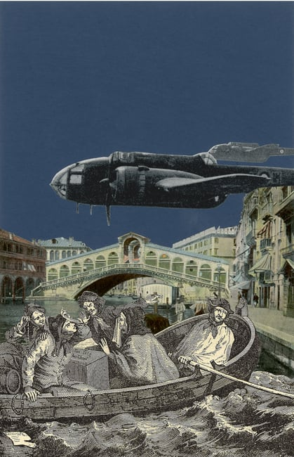 Peter Blake Venice - 'Crash', 2009 Silkscreen printed on 400gsm Somerset tub Sized. Signed and numbered by the artist 40.65 x 30.5 cm Edition of 75