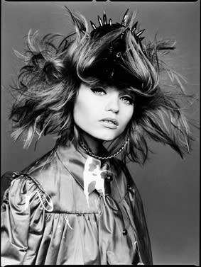 David Bailey If You Wanna Get a Head Get a Hat, 2010 Ilford Galerie Gold Fiber Silk 77 x 61 cm Edition of 20