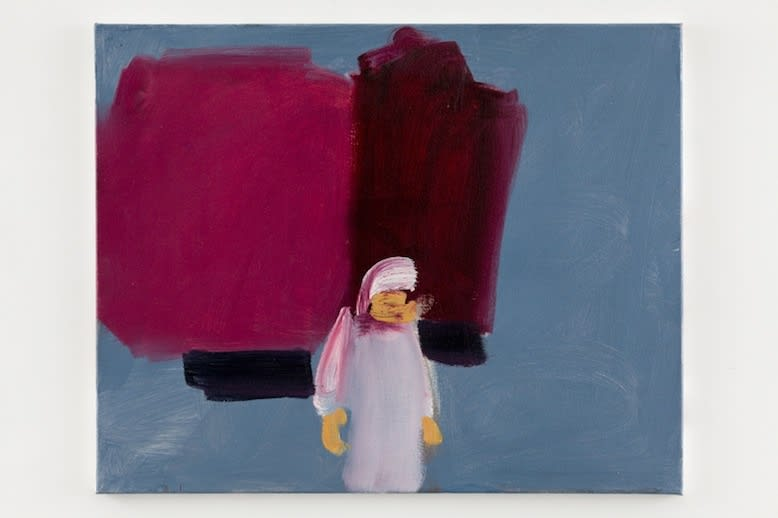 Susie Hamilton Rue El Gza, 2014 Oil on canvas. Signed, titled and dated 61 x 76 cm