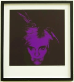 Gavin Turk Fright Wig (Purple), 2010 Silkscreen on paper Edition of 100 Signed and numbered by the artist 34 x 31cm 13.4 x 12.2 Edition of 100