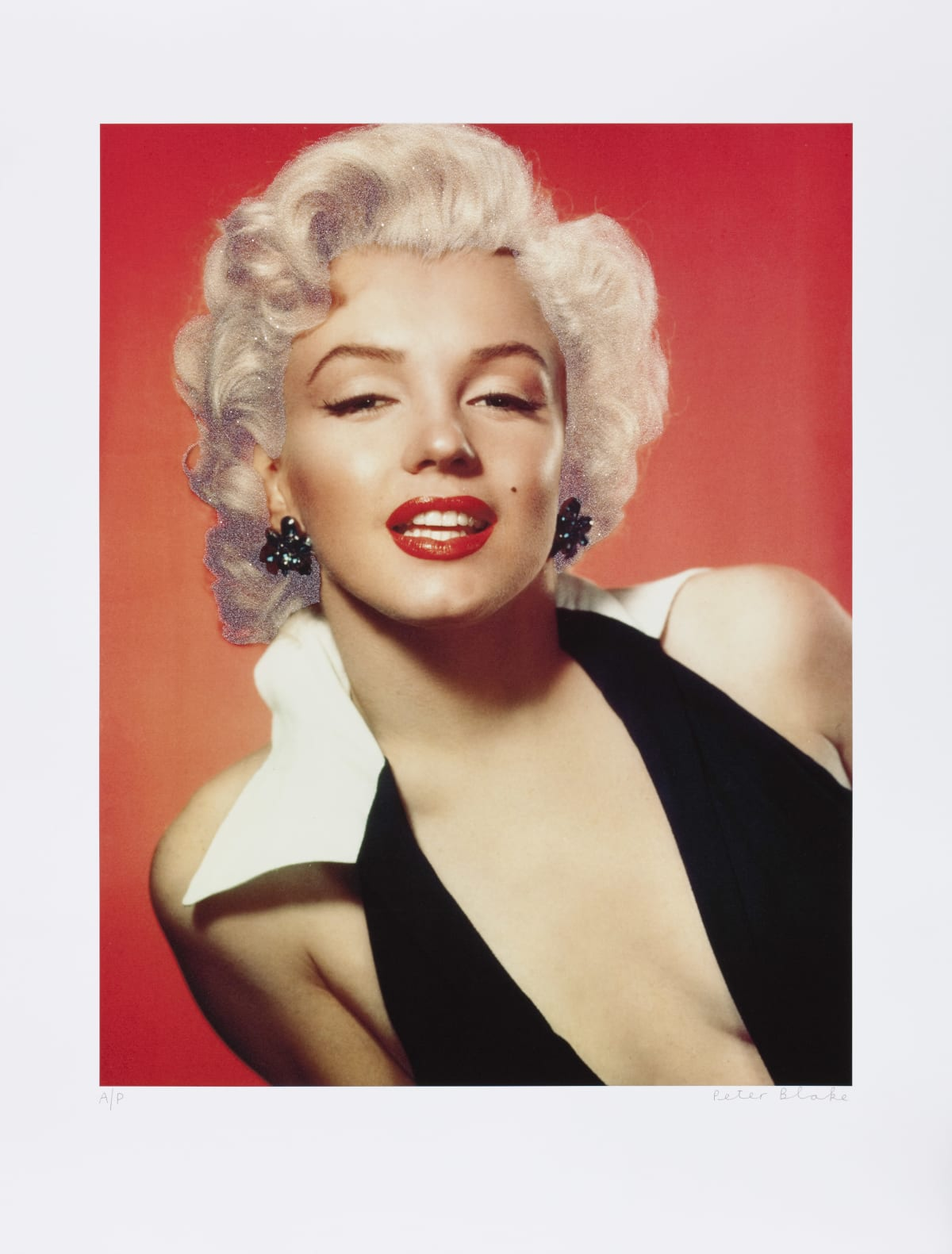 Peter Blake Marilyn, 2010 Silkscreen on Somerset 410gsm with diamond dust. Signed and numbered by the artist. 80 x 63 cm Edition of 150