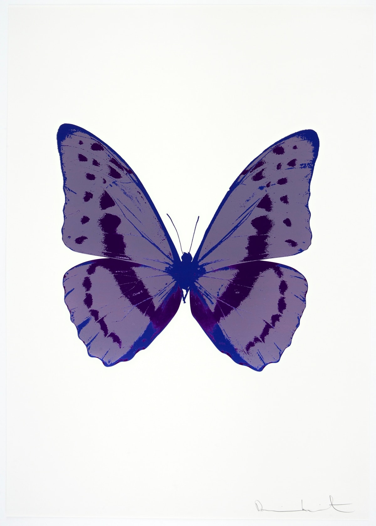 Damien Hirst The Souls III - Aquarius/Imperial Purple/Westminster Blue, 2010 3 colour foil block on 300gsm Arches 88 archival paper. Signed and numbered. Published by Paul Stolper and Other Criteria 72 x 51cm OC7918 / 660-21 Edition of 15