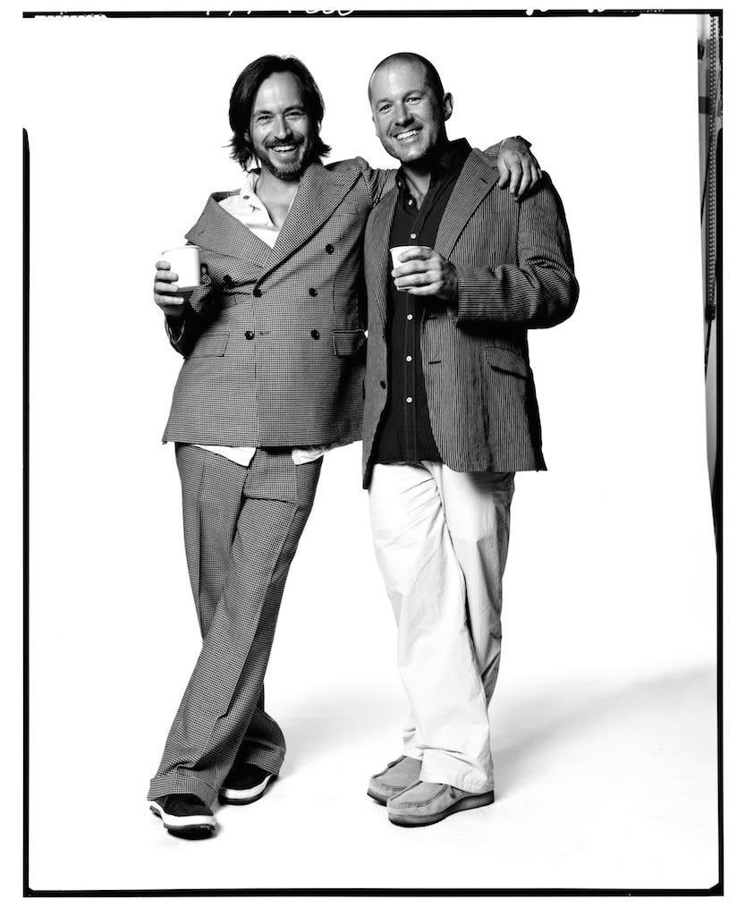 David Bailey Marc Newson and Jony Ives, 2010 Ilford Galerie Gold Fiber SIlk 77 x 61 cm Edition of 15