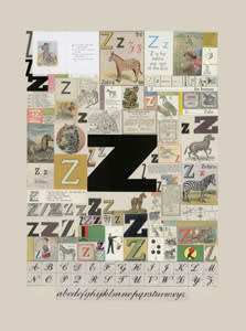 Peter Blake The Letter Z, 2007 Silkscreen, embossing and glaze on Somerset satin 300gsm Signed and numbered 52 x 37.5 cm Edition of 60