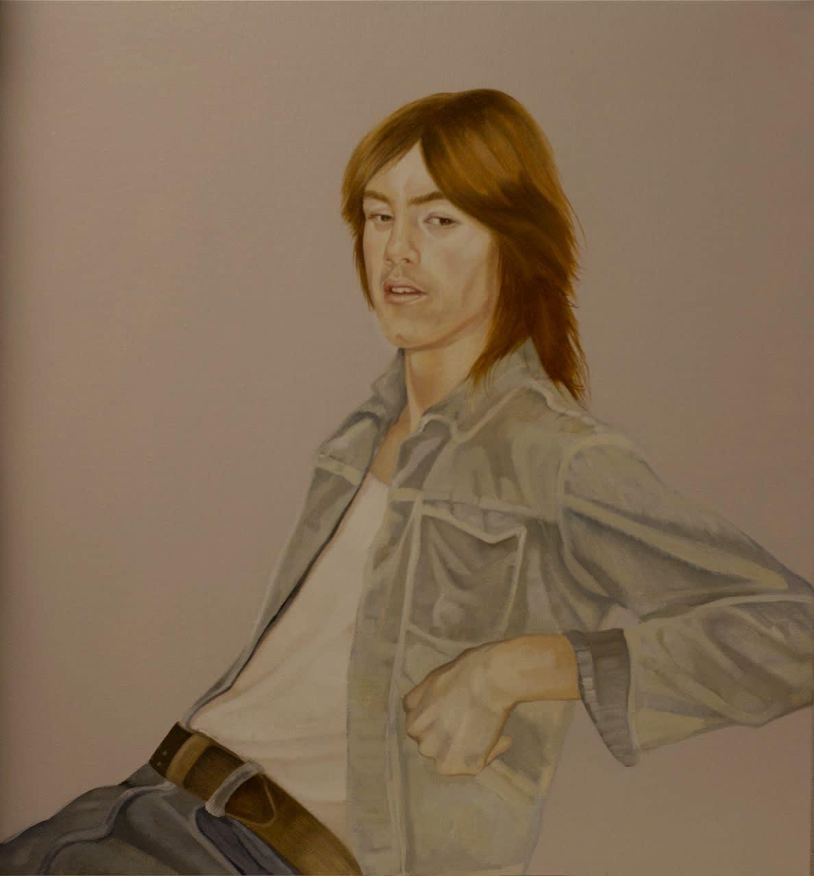 Grace O'Connor Woodlawn Terrace, 2009 Oil on Linen 61 x 55.9 cm 24 x 22 in