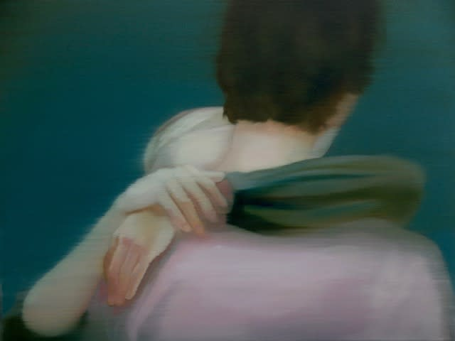 Grace O'Connor The emptiest arms, 2016 Oil on canvas. Signed on verso 46 x 61 cm