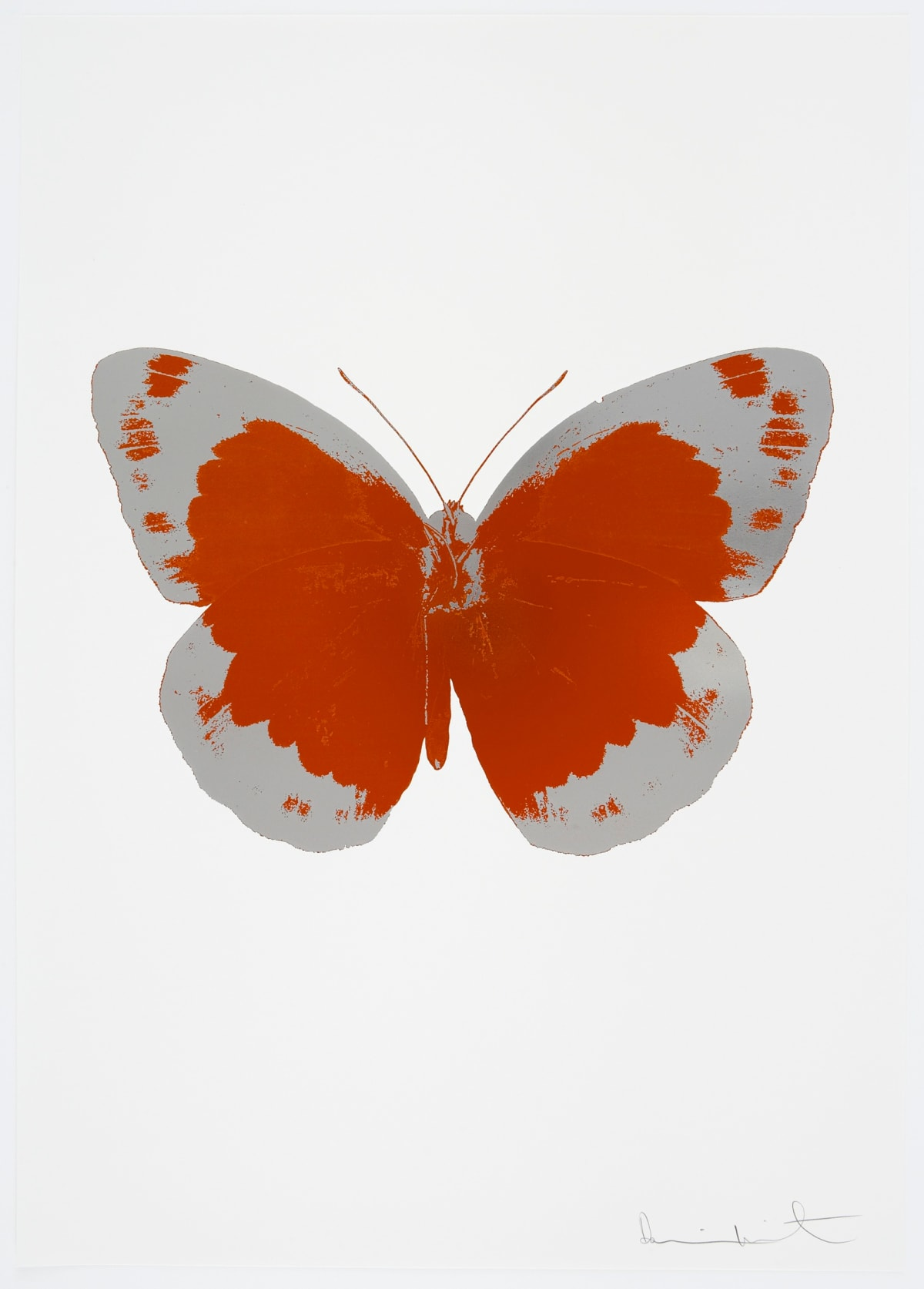 Damien Hirst The Souls II - Prairie Copper/Silver Gloss/Blind Impression, 2010 2 colour foil block on 300gsm Arches 88 archival paper. Signed and numbered. Published by Paul Stolper and Other Criteria 72 x 51cm OC7849 / 658-32 Edition of 15