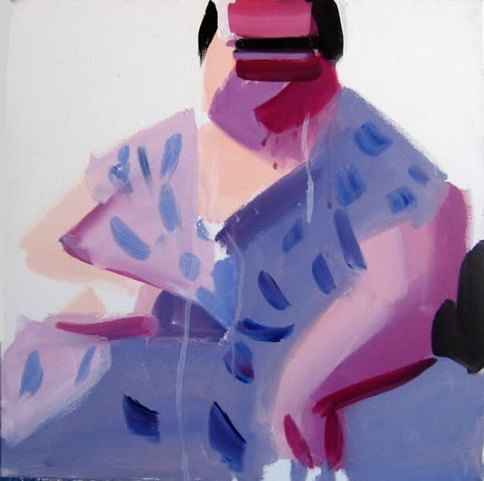 Susie Hamilton Dot / 3, 2011 Oil on canvas. Signed, dated and titled en verso by the artist. 41 x 50.5 cm 16.1 x 19.9 in