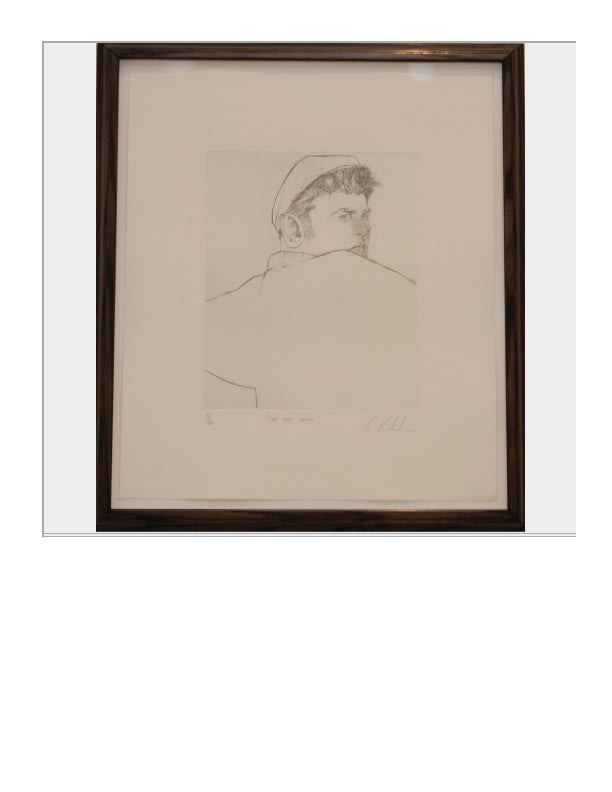 Ray Richardson The Hat Caper, 1990 Etching, signed, titled, numbered 45 x 38 cm 17.7 x 15 in Edition of 40