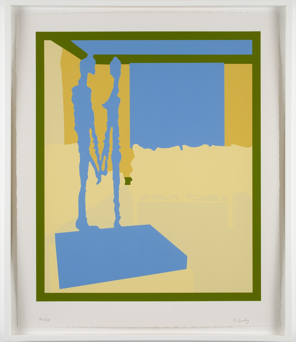 Keith Coventry Collection Particulière, 2008 Silkscreen on Arches 410gsm Signed and numbered 70 x 59.5 cm Edition of 50