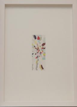 Fiona Curran Composition IV, 2007 Gouache on watercolour paper Framed Sheet: 40.7 x 28.5 Framed: 45 x 32.6 Sheet 103.4 x 72.4 Framed 114.3 cm x