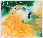 Susie Hamilton SH114 Gibbon/2, 2003 Acrylic on paper 28 x 28 cm