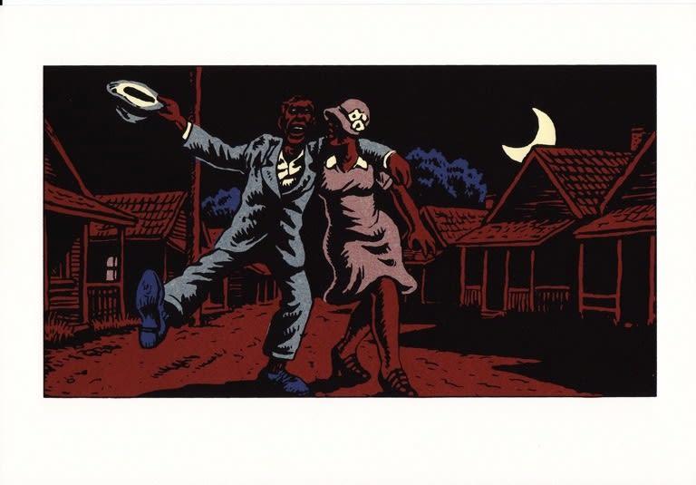Robert Crumb Blues 12 prints, each 4 colour silkscreen on Arche Velin 270gsm 30 x 20.5cm 11.8 x 8.1 ed.HC 1/10