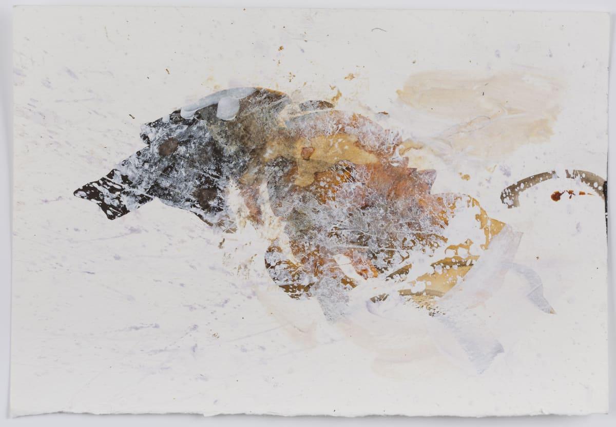 Susie Hamilton SH156 Soda lake/3, 2003 Acrylic on paper 28 x 38 cm