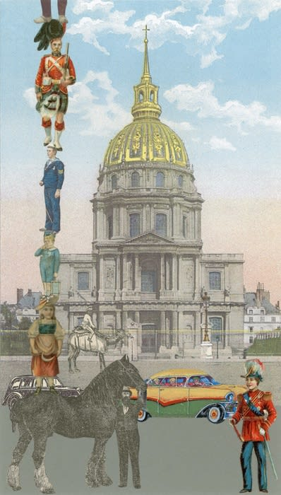 Peter Blake Paris-10 Man Up, 2010 Silkscreen on Somerset tub-size 410 gsm Signed and numbered by the artist. 38 x 21.5 cm Edition of 100