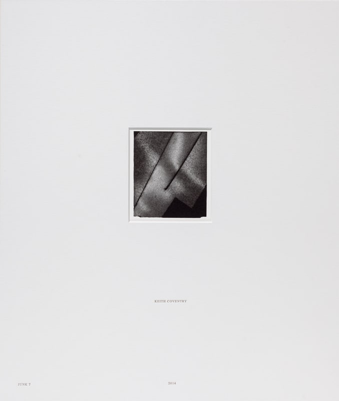 Keith Coventry Junk 7, 2014 Lithograph on Somerset White 300gsm and mounted in museum archival board. Signed, numbered and mounted Sheet size: 51.4 x 45 cm / Mount size 56.5 x 48 cm Edition of 25