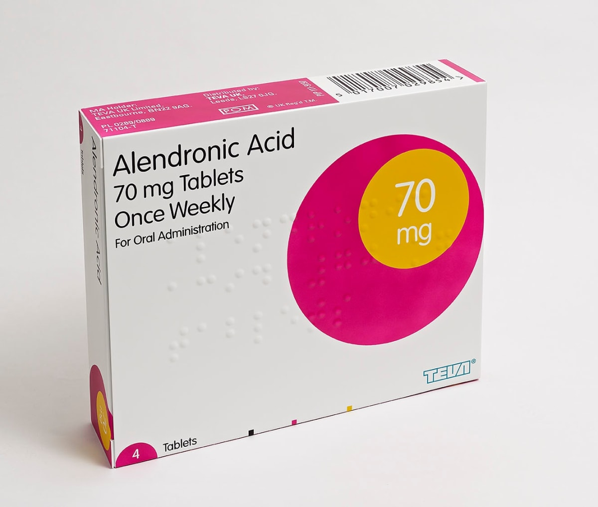 Damien Hirst Alendronic Acid 70mg Tablets Glass reinforced plastic and Polyurethane resin structure. 2014. Numbered, signed and dated. Published by Paul Stolper and Other Criteria. OC10064 / DHS18305 H 56 x W 71 x D 15cm Edition of 30