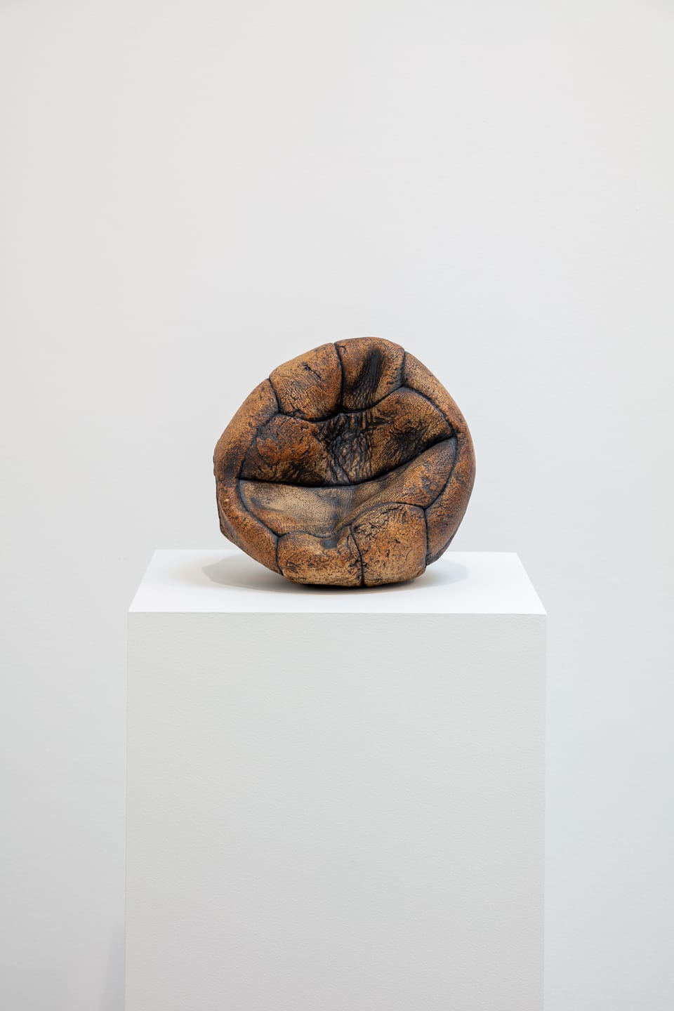 Marcus Harvey Ball, 2018 Glazed stoneware 19 x 22 x 16 cm Edition of 22