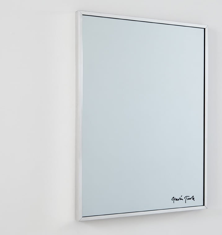 Gavin Turk Your Authorised Reflection, 2009 Glass, mirror ink, pen 60 x 45 cm 23.6 x 17.7 in ed.AP 1/6