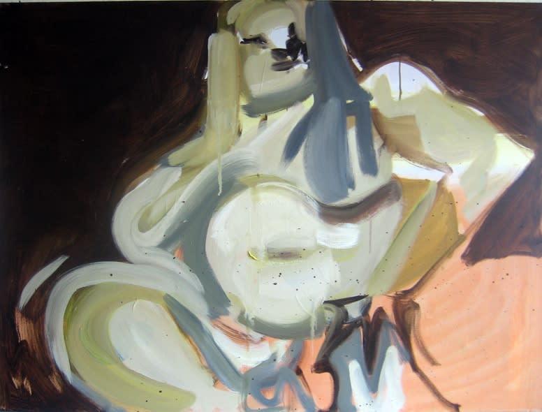 Susie Hamilton Minnie, 2011 Oil on canvas 91 x 122 cm 35.8 x 48 in