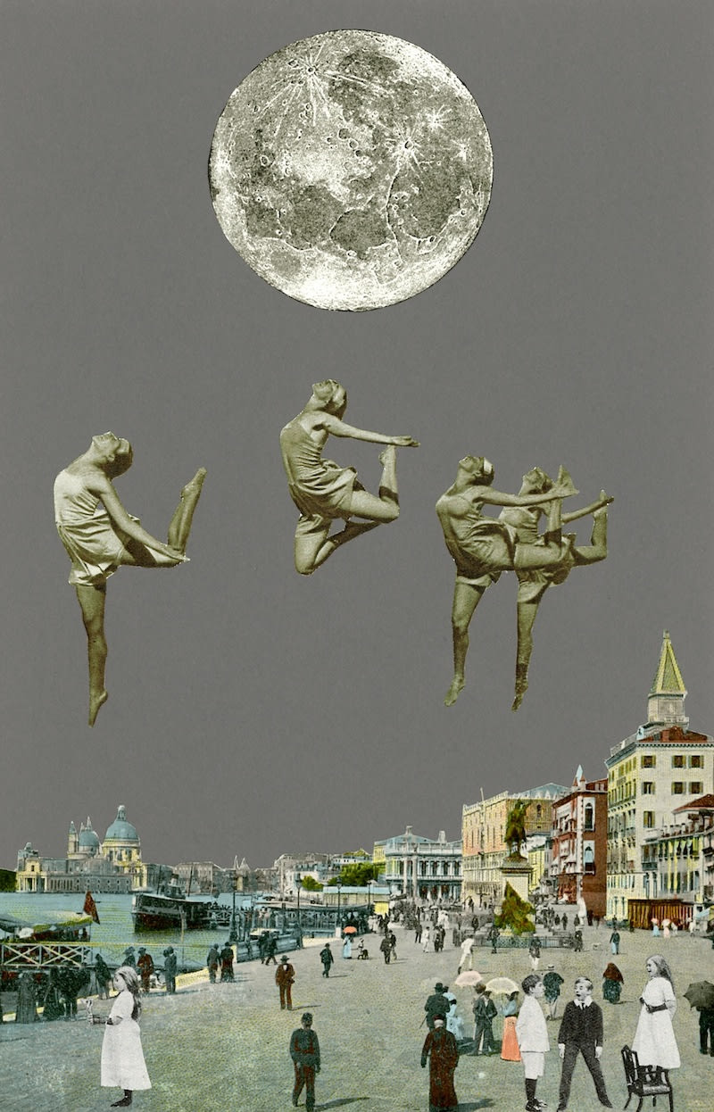 Peter Blake Venice- Dancing Over Venice, 2013 Inkjet and glaze on canvas Signed and numbered by the artist 130 x 83 cm Edition of 10